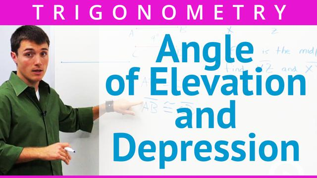Angle of Elevation and Depression - Concept