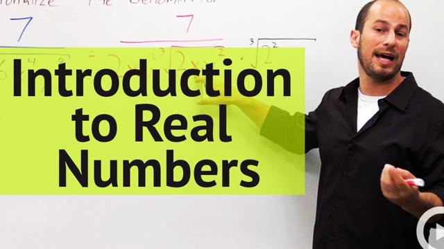 Introduction to Real Numbers - Concept