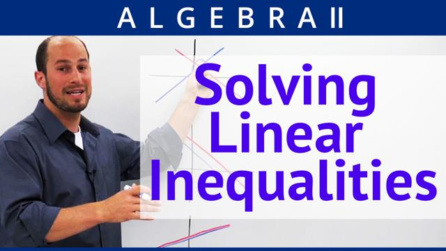 Solving Linear Inequalities - Concept
