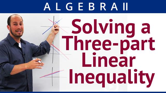 Solving a Three-part Linear Inequality - Concept