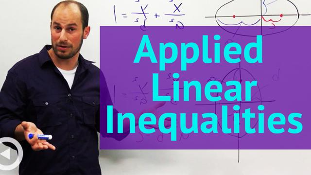 Applied Linear Inequalities - Concept
