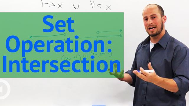 Set Operation: Intersection - Concept
