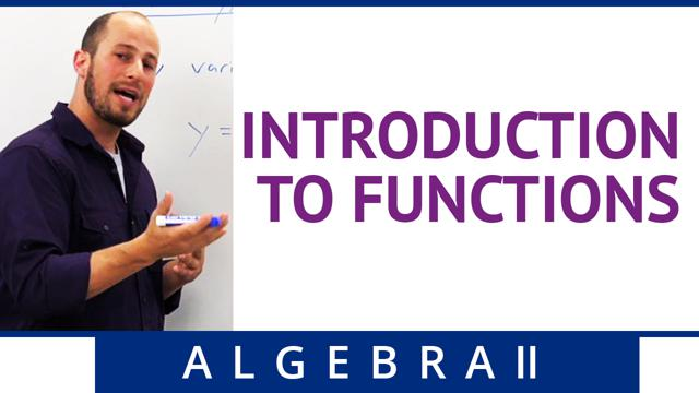 Introduction to Functions - Concept