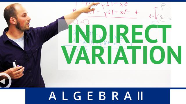 Indirect Variation - Concept