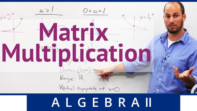 Matrix Multiplication - Concept