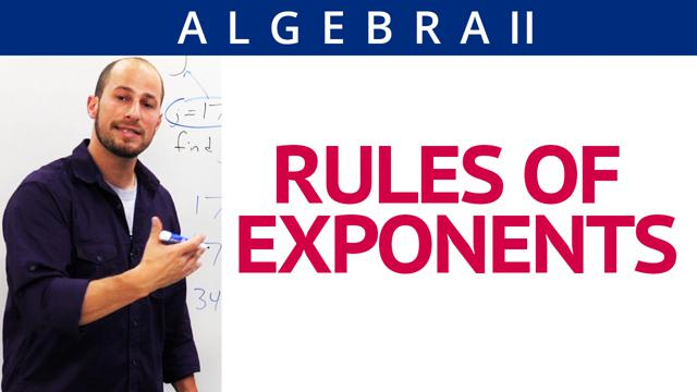 Rules of Exponents - Concept
