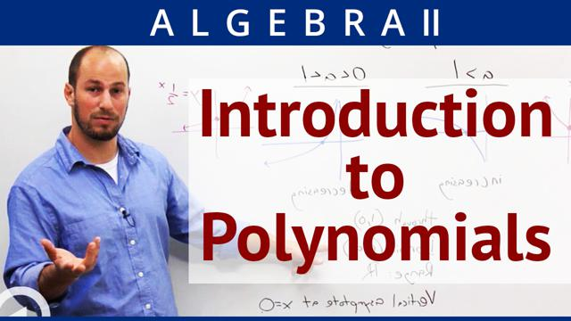 Introduction to Polynomials - Concept