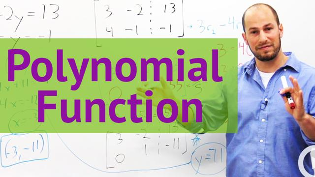 Polynomial Function - Concept