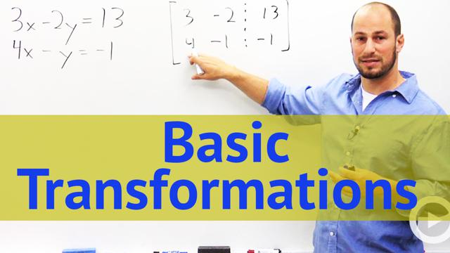 Basic Transformations - Concept