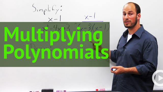 Multiplying Polynomials - Concept