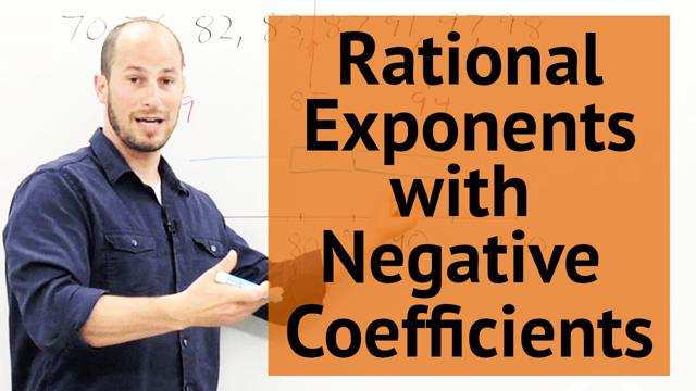 Rational Exponents with Negative Coefficients - Concept