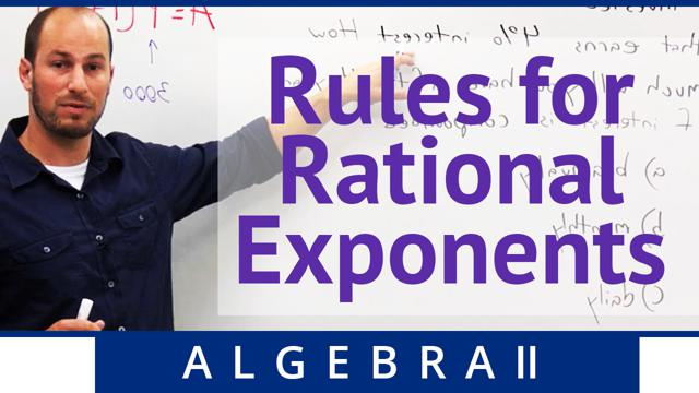 Rules for Rational Exponents - Concept