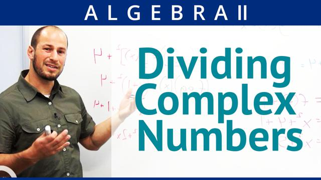Dividing Complex Numbers - Concept