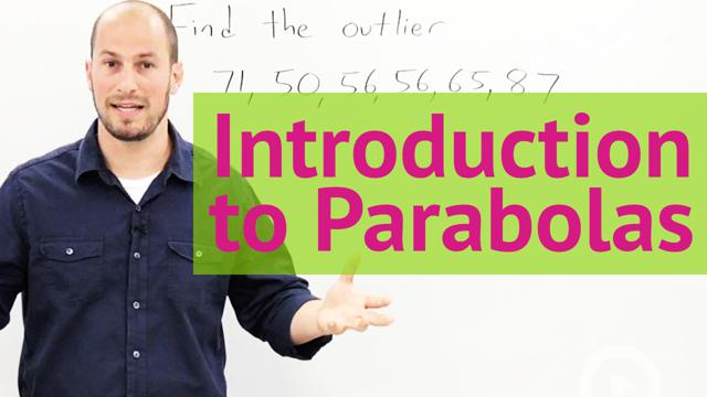 Introduction to Parabolas - Concept