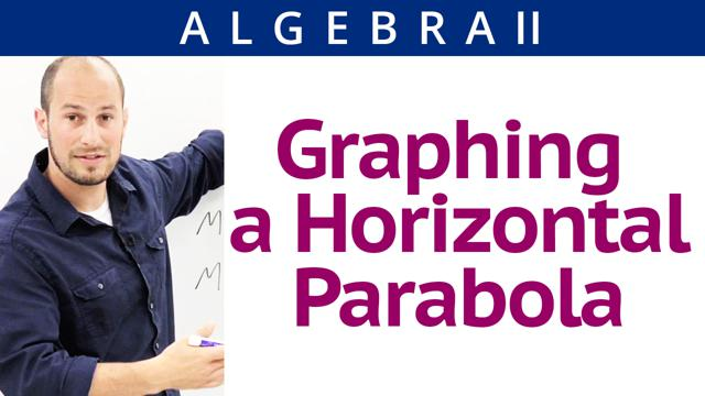 Graphing a Horizontal Parabola - Concept