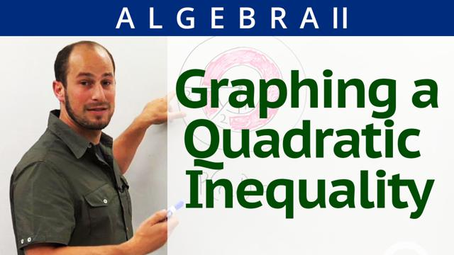 Graphing a Quadratic Inequality - Concept