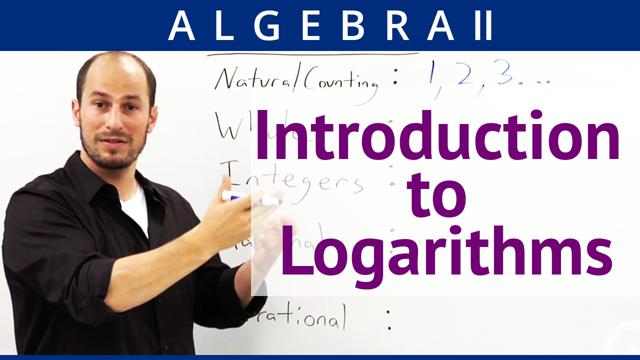 Introduction to Logarithms  - Concept
