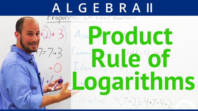 Product Rule of Logarithms - Concept