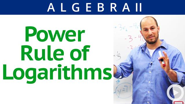 Power Rule of Logarithms - Concept