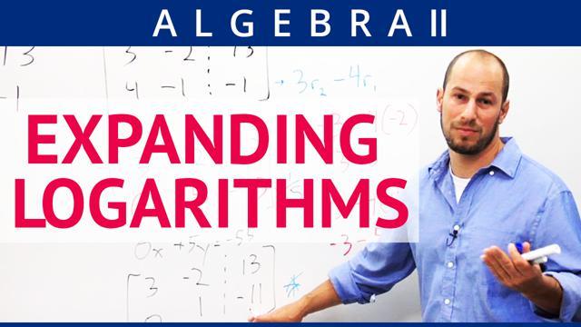 Expanding Logarithms - Concept