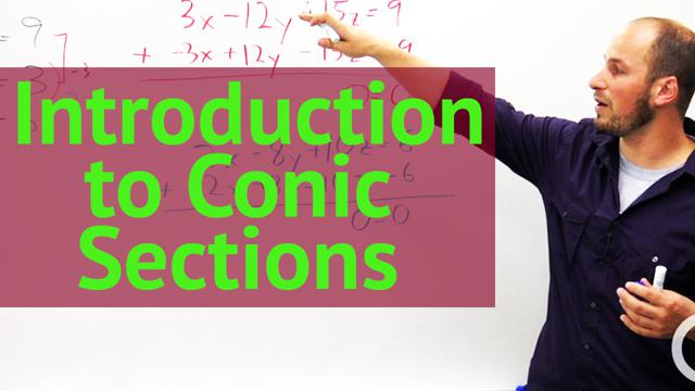 Introduction to Conic Sections - Concept