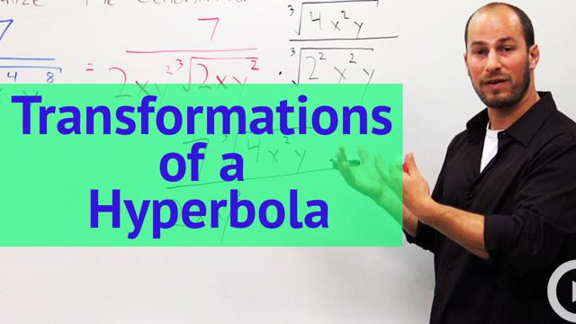 Transformations of a Hyperbola - Concept