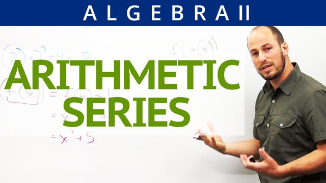 Arithmetic Series - Concept