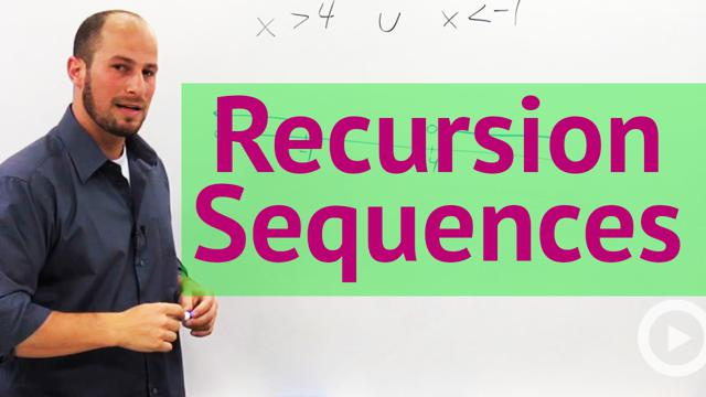 Recursion Sequences - Concept