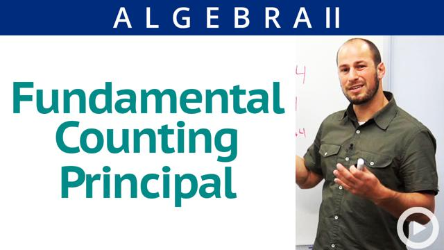 Fundamental Counting Principal - Concept
