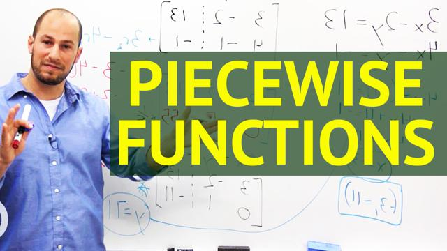 Piecewise Functions - Concept