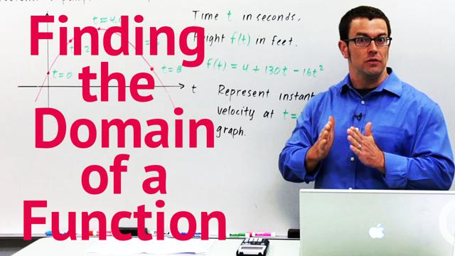 Finding the Domain of a Function - Concept