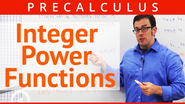 Integer Power Functions - Concept