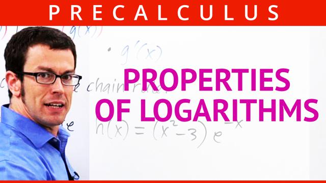 Properties of Logarithms - Concept