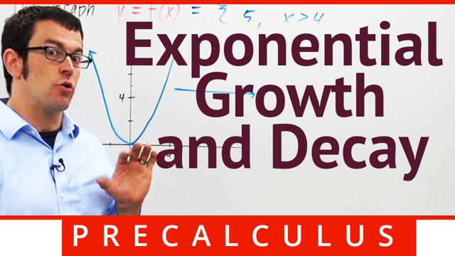 Exponential Growth and Decay - Concept