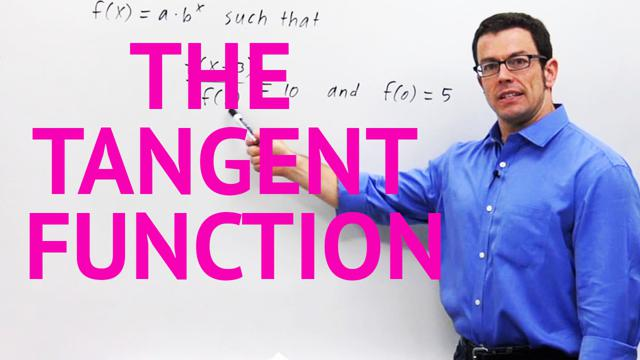 The Tangent Function - Concept