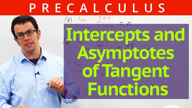 Intercepts and Asymptotes of Tangent Functions - Concept