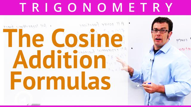 The Cosine Addition Formulas - Concept