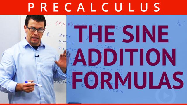 The Sine Addition Formulas - Concept