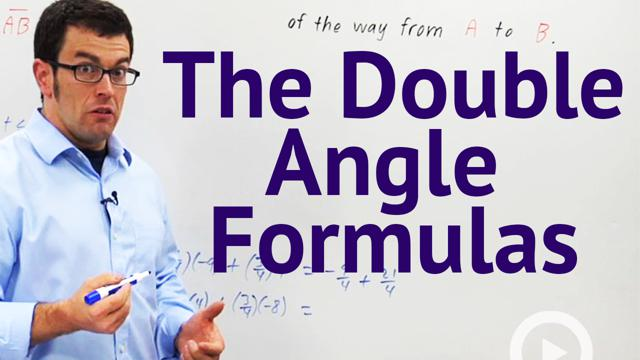 The Double-Angle Formulas - Concept