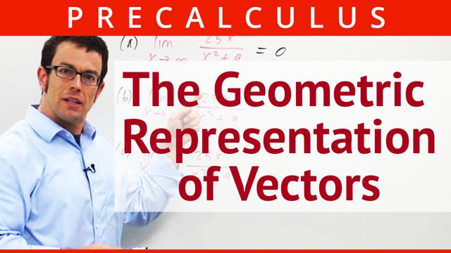 The Geometric Representation of Vectors - Concept