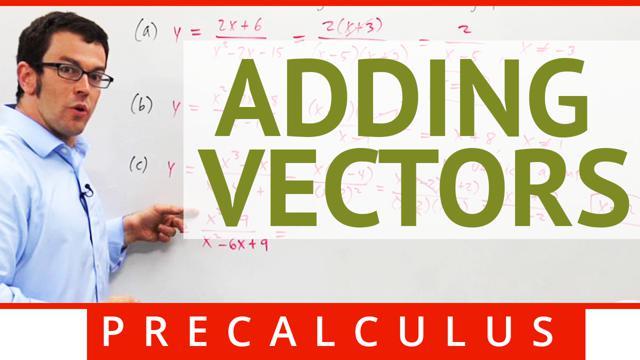 Adding Vectors - Concept