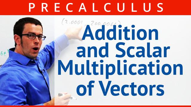 Addition and Scalar Multiplication of Vectors - Concept