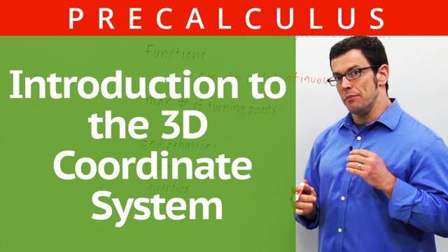 Introduction to the 3D Coordinate System - Concept