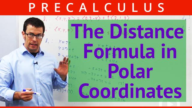 The Distance Formula in Polar Coordinates - Concept
