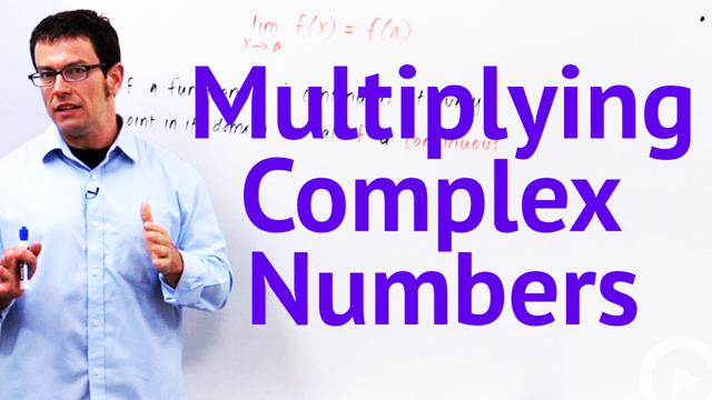 Multiplying Complex Numbers - Concept