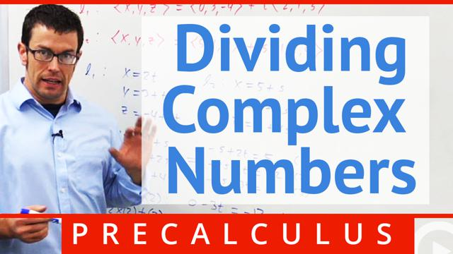 Dividing Complex Numbers - Concept