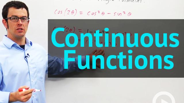 Continuous Functions - Concept