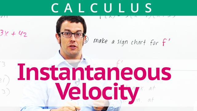 Instantaneous Velocity - Concept