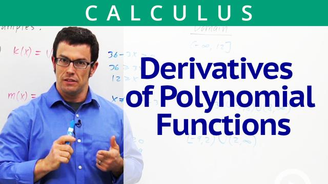 Derivatives of Polynomial Functions - Concept