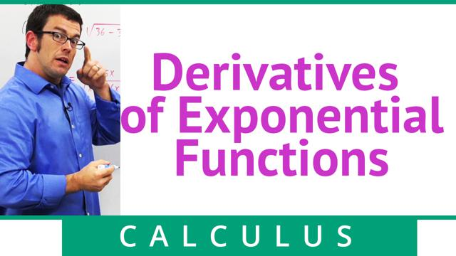 Derivatives of Exponential Functions - Concept